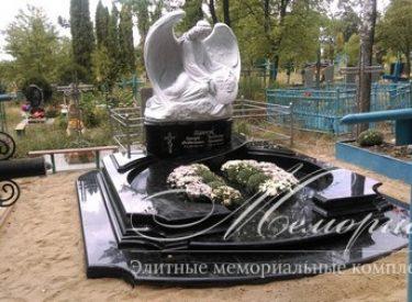 Ритуальный авторский памятник ангела (г. Винница)