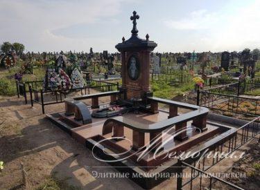 Ритуальный комплекс из гранита (г. Борисполь)