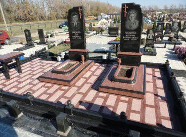 Изысканный ритуальный комплекс на два захоронения (г. Ставрополь, Россия)